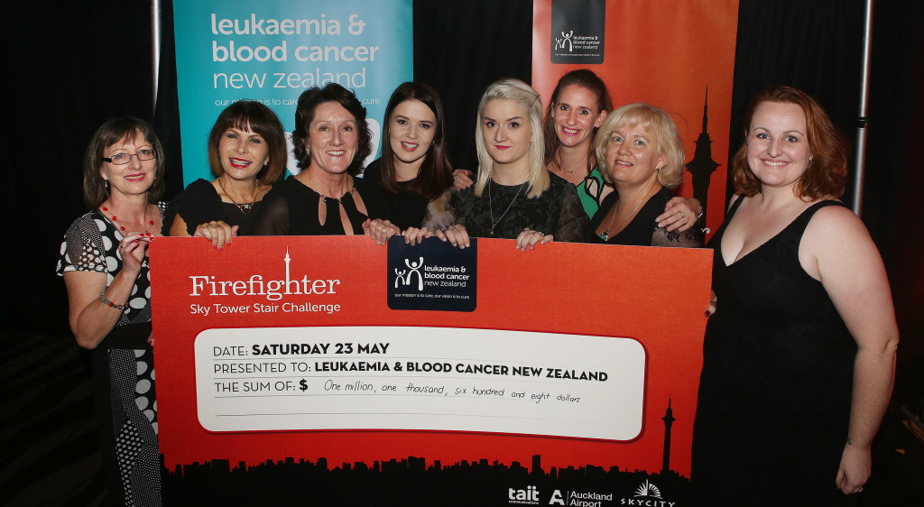Skycity Firefighter Sky Tower Challenge Dinner. 23rd May 2015
