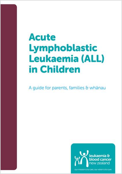 Acute Lymphoblastic Leukaemia (ALL) in Children