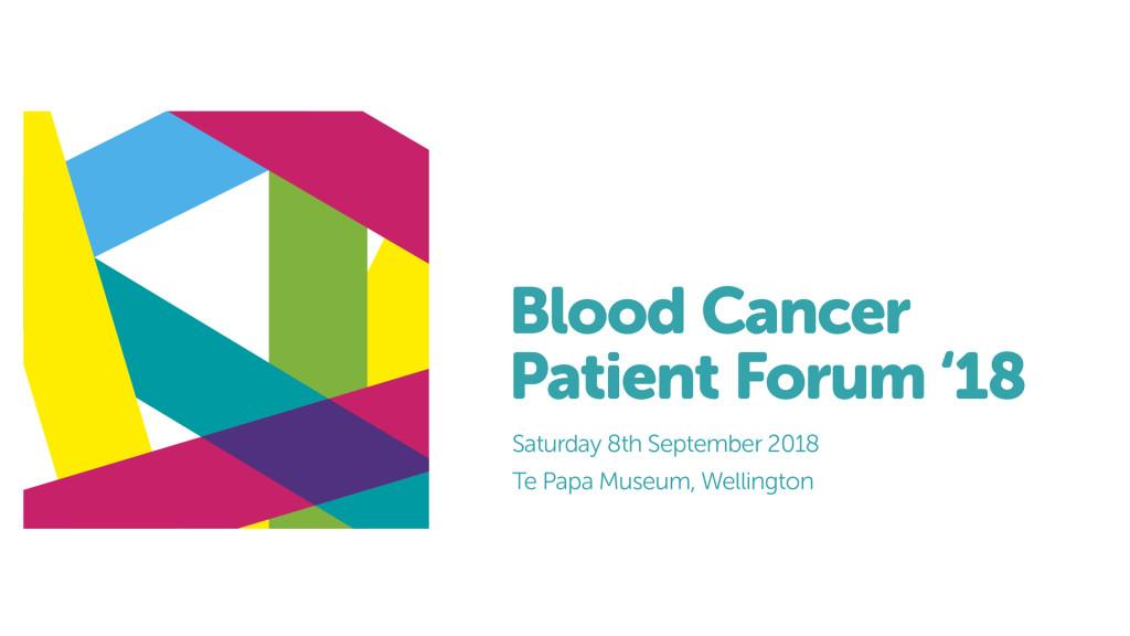 Blood Cancer Patient Forum 2018 logo